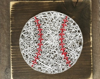 Baseball String Art