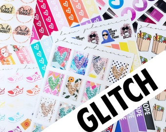 5 Sheets! Advent Bundles! (Glam Planner Stickers)
