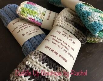 Medium Washcloths / Dishcloths / Body Cloths / Face Cloths / Cotton Cloths / Multipurpose Cloths / Washcloths / Household Cloths / Cloths
