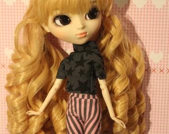 Cassual Set for  1/6  Dolls  like   Momoko, Pullip, Barbie