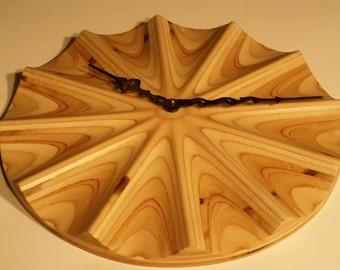 Plywood CNC clock