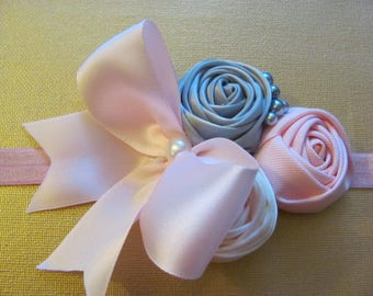 Flower HeadBand for Baby Girl /Birthday Headband for Baby Girl / Headband for Baby Girl / Headband