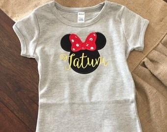 Custom Mickey & Minnie Disney Shirts (Short Sleeve)