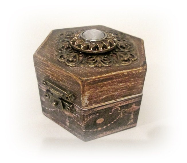 Rustic ring boxwedding ring box ring holder personalized ring for Wedding ring holder box