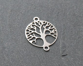 Tree of life in Sterling silver 925/- rhod.pl. art.3675