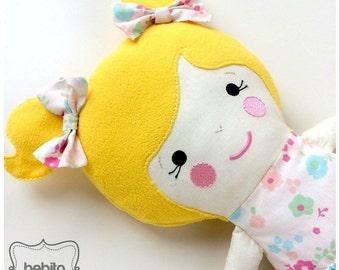 CUSTOM Doll - Fabric doll - Soft Rag Doll -