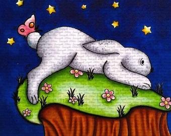 Stars and Bun Digital Stamp by Sasayaki Glitter