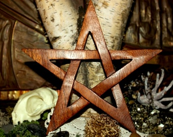 Pentagram - Earth symbol - wall decorations