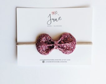 the BLING bow || PINK