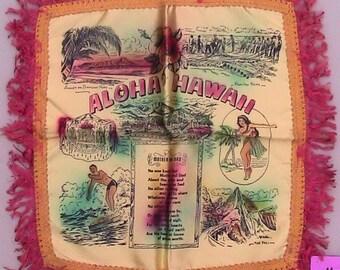 50s ALOHA HAWAII Cushion Cover