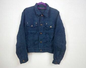 Rare!!! Vintage Jean Paul Gaultier Junior Gaultier Blue Denim Jeans Jacket Size 48 Levis Stussy Paul Smith LV Gucci Zucca