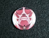 Attack on Titan Buttons Set of 4
