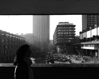 Barbican Print, Brutalism Print, Architecture Print, Chamberlin, Powell & Bon, Photography, Art Prints, Black And White Print, Wall Art