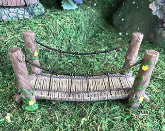 "Miniature 6"" Suspension Bridge"