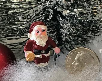 Miniature Teeny Santa