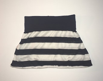 STRIPED SKIRT - baby skirts, girls, twirl skirts, basic baby outfits, girls outfits, black and white