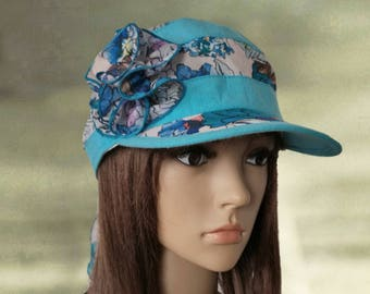 Suns hats women, Cotton summer hats, Linen women's hats, Sun lace cotton hat, Visor hats lady, Beach linen hats, Womens linen hats