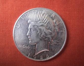 1926 D Peace Dollar