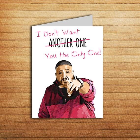 DJ Khaled Anniversary Card Funny Birthday Card Card For