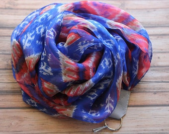 Colorado Sunrise camera scarf