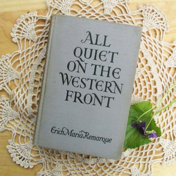 an analysis of the soldiers in the novel all quiet on the western front by erich maria remarque All quiet on the western front - loss of innocence in all quiet on the western front, by erich maria remarque.