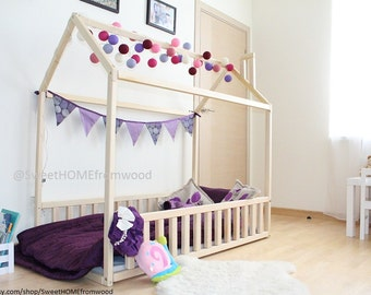 Twin Size Toddler Bed AmpSLATS House Bed Bed By