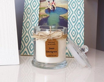 Triple Scented Soy Candle
