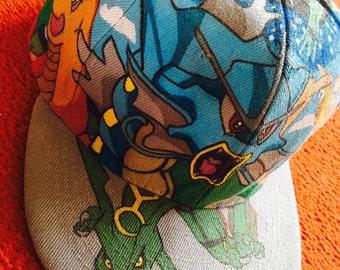 Pokemon Custom Made Snap Back Cap (READ) :)
