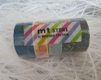 Japanese Limited Washi Tape MT Rokko Washi Tape set