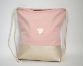 Gym Bag, Rose/Pearl, Festival Bag, Rucksack
