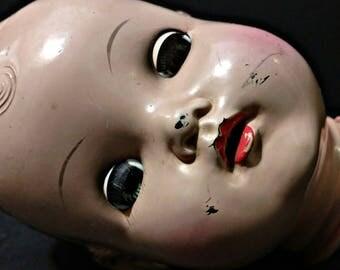 Horsman Plastic/Vinyl Doll Head