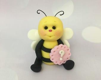 Fondant Bumble Bee Cake Topper