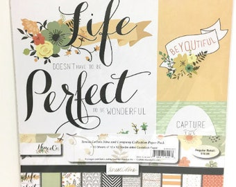 Teresa Collins - Nine & Co. Collection - 12 X 12 Paper Collection Pack