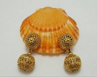MONET Filigree Dangle Earrings