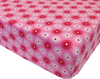 reg. price 26.00 Pink Spindot Crib Sheet