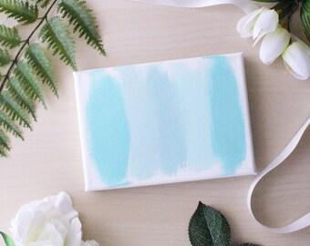Blue Paint Canvas