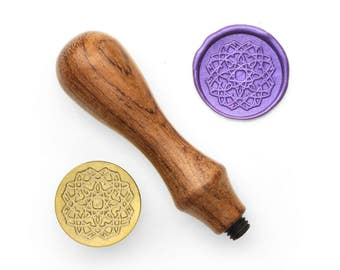 Mandalas Pattern - 20 - Design OD Wax Seal Stamp (DODWS0332)