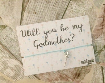 Godmother gift Will you be my Godmother present