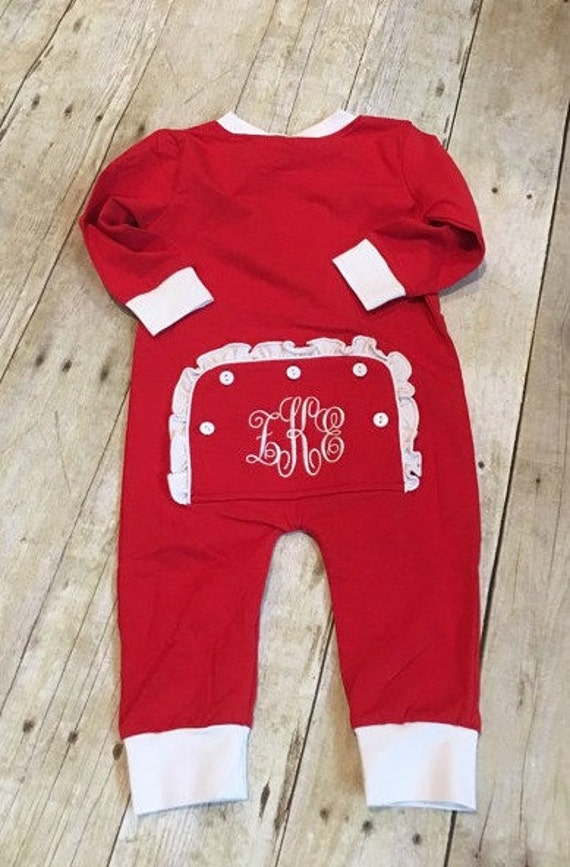 All in One Christmas Pajamas/Toddler Christmas by DiDistitchin