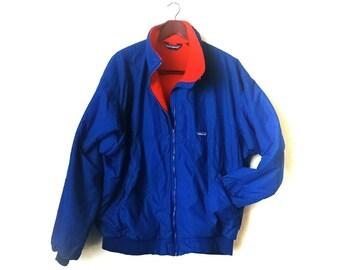 Vintage 1990s Patagonia fleece lined winter ski coat