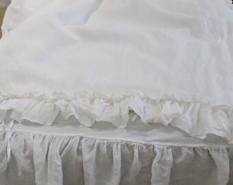 Ruffled Bedding Etsy