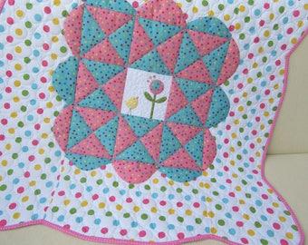Baby quilt / patchwork quilt