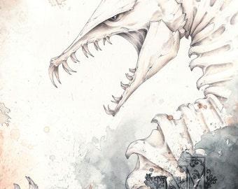 Skelragon Print
