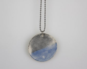 Blue Moon Pendant + chain