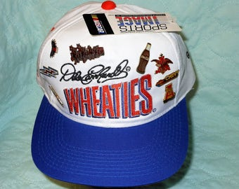Vintage Dale Earnhardt Sr. / Goodwrench Service Racing / Wheaties / NASCAR / RAR/ 5/17/1997 Hat by Chase Authentic, New with Tag