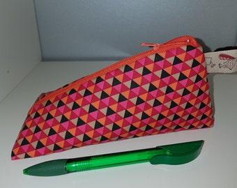Pencil case, extraordinary triangle pouch,