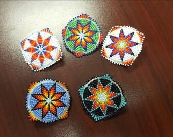 Medallion style lapel pins
