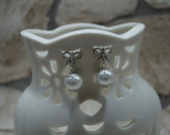 """Earrings """"loop meets beads"""" gold"""