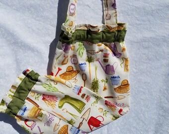 Gardening Fabric Recycle Plastic Bag Dispenser, Recycle Plastic Grocery Bags Holder and Dispenser