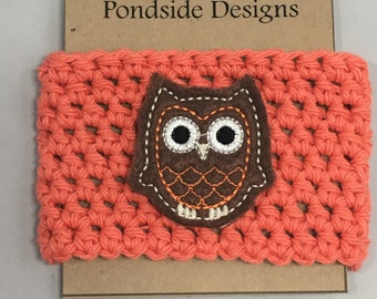 Brown owl coffee sleeve